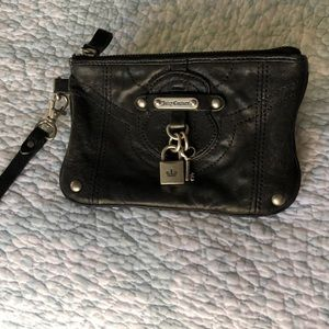 Juicy Couture Black Wristlet